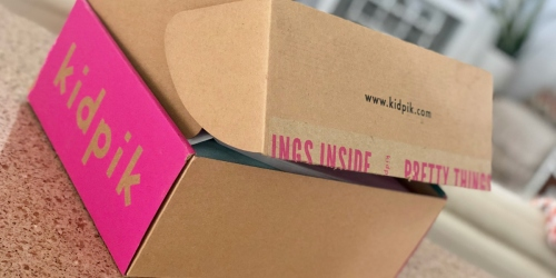 $25 Off First Kidpik Box (Fun Surprise Box of Girls Apparel Delivered Free To Your Door)