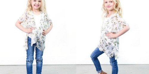 Women's & Kids Summer Apparel as Low as $4.98 Shipped (Wraps, Kimonos & More)