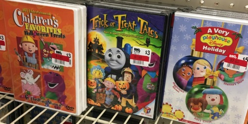 Kids Halloween DVDs Starting at $1.50 at Big Lots