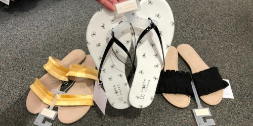 Women's Sandals as Low as $5.66 Each at Kohl's (Regularly $16) + More