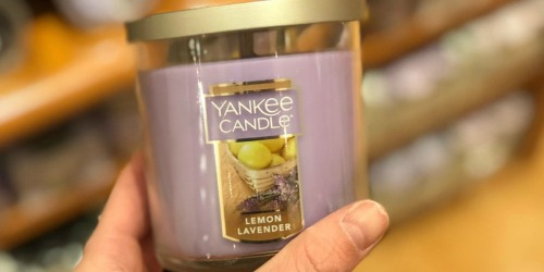 Buy 1 Yankee Candle Small Jar Tumbler, Get 2 FREE (In-Store & Online)