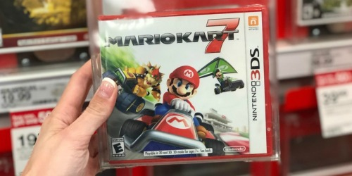 Buy One Nintendo 3DS Game, Get One 50% Off + Free Shipping