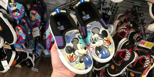 Disney Boys Sneakers as Low as $7 at Walmart (In-Store & Online)