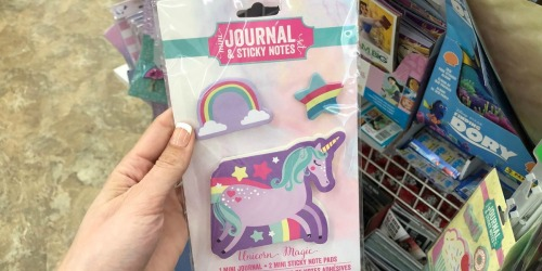 Mini Journal & Sticky Notes Sets Only $1 at Dollar Tree