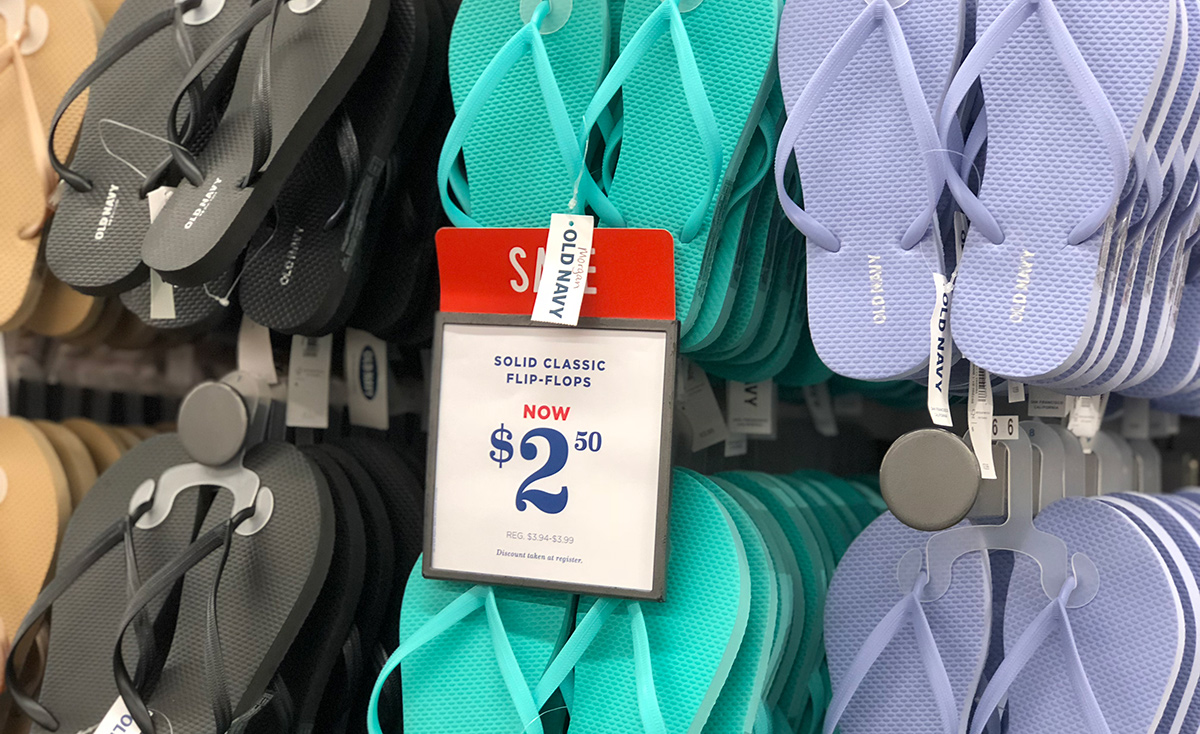 d3f83fcf49dc Affordable Flip Flops That Cost Less Than Your Latte