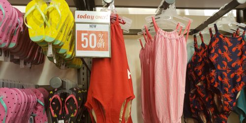 50% Off Old Navy Swimwear for the Whole Family