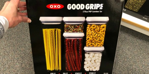 OXO Good Grips POP 5-Piece Container Set as Low as $29.91 Shipped at Kohl's + More