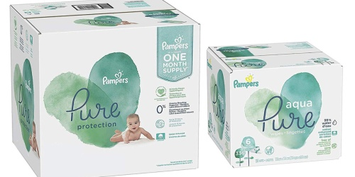 Pampers Pure Diapers & Wipes Bundle as Low as $35.74 Shipped (Regularly $81)