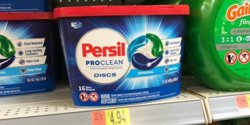 Better Than FREE Persil Laundry Detergent After Cash Back at Walmart