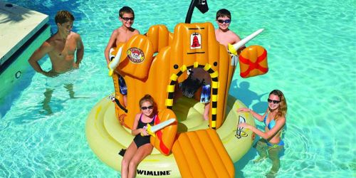 GIANT Pirate Island Pool Float Only $69.99 (Regularly $170) + More