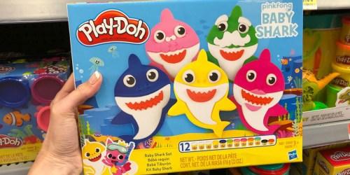 Play-Doh Baby Shark Set Available at Walmart