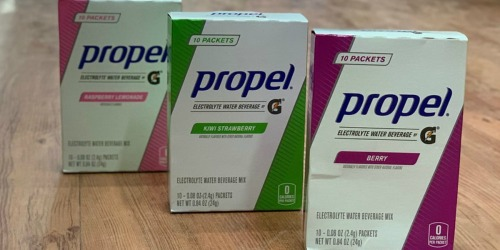 Propel Powder Packets 50-Count Variety PackOnly $11 Shipped on Amazon