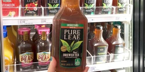 Pure Leaf Iced Tea 59oz Just $1 After Cash Back at Target