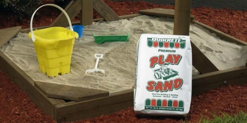 Play Sand LARGE 50-Pound Bags Just $2.50 at Lowe's