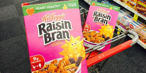 Kellogg's Raisin Bran Cereal Only $1.50 at CVS (Starts May 19th)