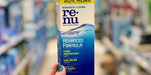 Renu Multi-Purpose Solution Only 49¢ Each After Target Gift Card + More