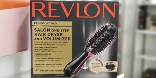 Amazon Prime: Revlon One-Step Hair Dryer & Volumizer Only $36.71 Shipped