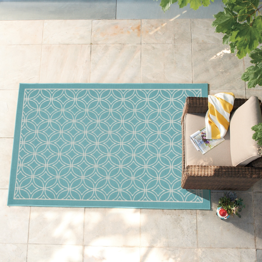 Sonoma Goods For Life 5 X 7 Outdoor Area Rugs Only 35