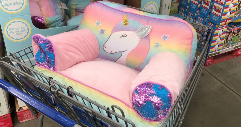 Sam S Club Clearance Finds Kids Unicorn Bean Bag Chair