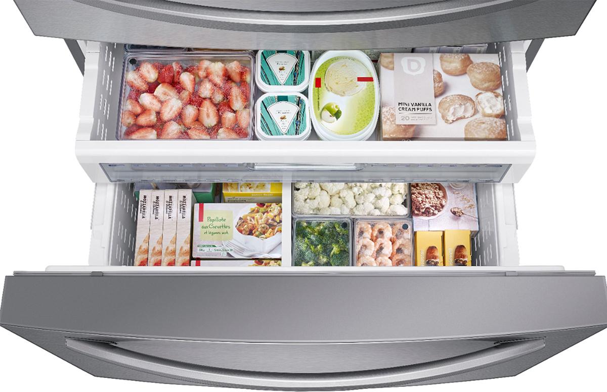 samsung flex drawers on fridge