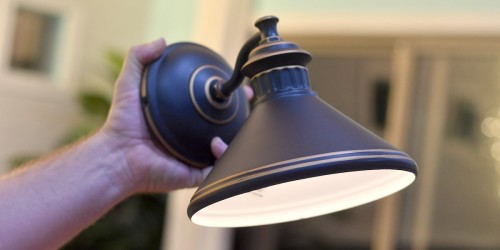 You Can Install a Sconce Light WITHOUT Any Wiring