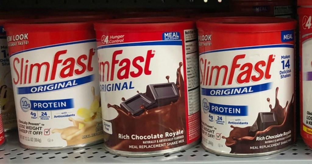 slimfast original weight loss powder