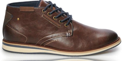 SONOMA Goods for Life Men's Chukka Boots as Low as $19 Shipped at Kohl's (Regularly $80)