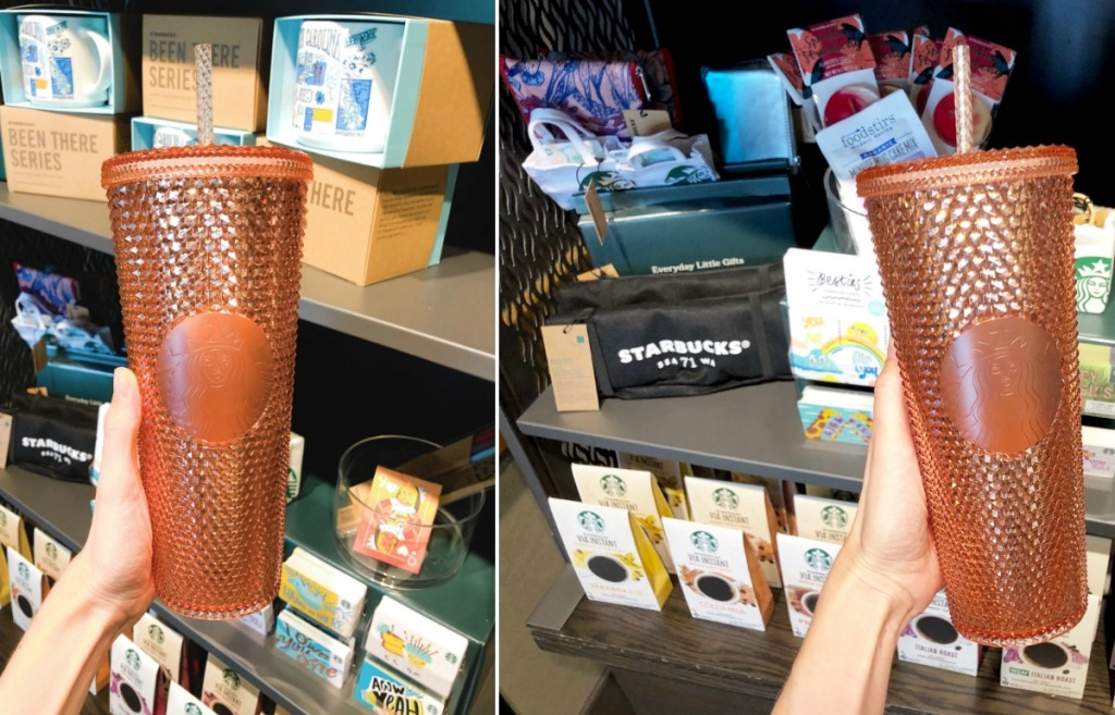 Starbucks Rose Gold 24 Ounce Tumbler Available Now Hip2save