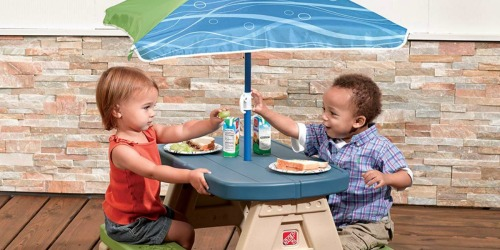 Step2 Sit and Play Kids Picnic Table w/ Umbrella Just $34 Shipped at Amazon