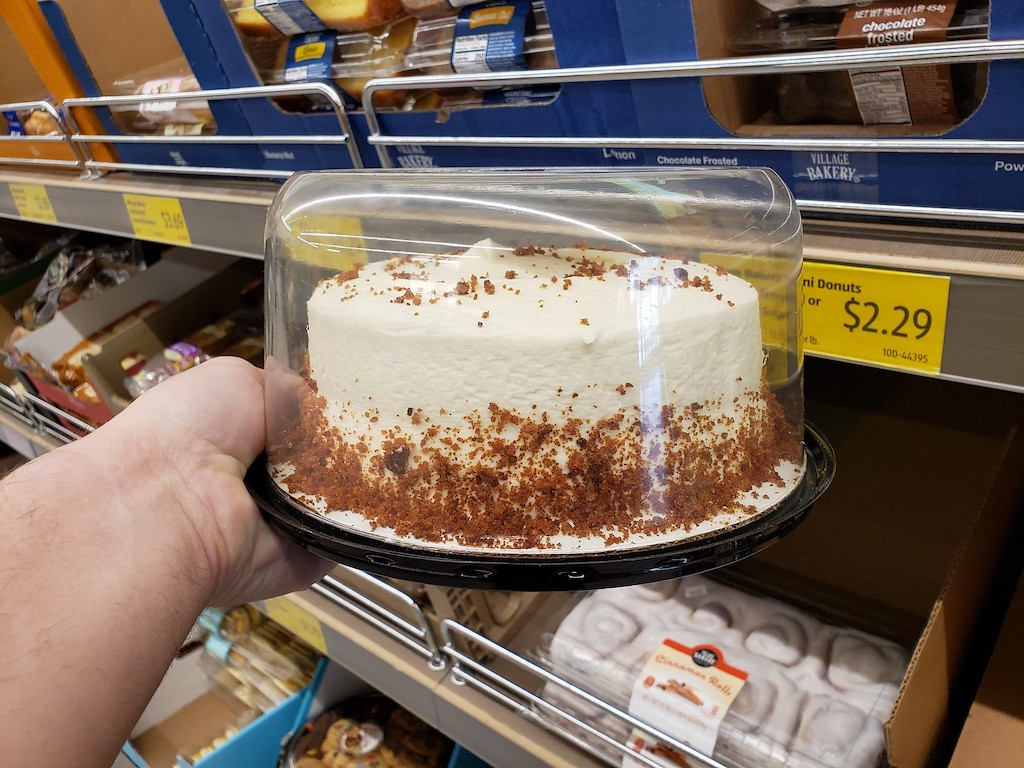 Store bought cake from ALDI