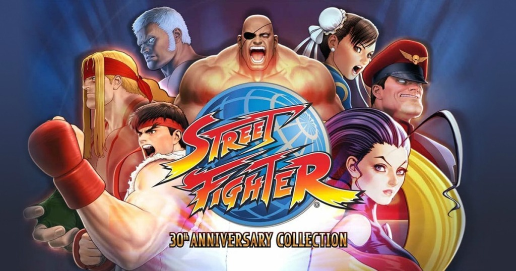 street fighter 30th anniversary collection cover art