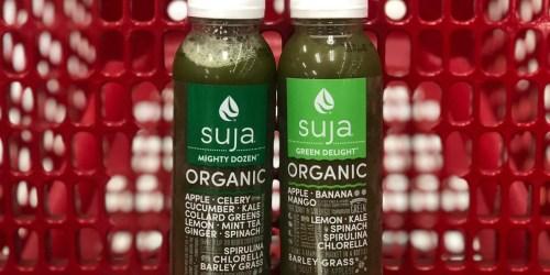 55% Off Suja Organic Juice After Cash Back at Target