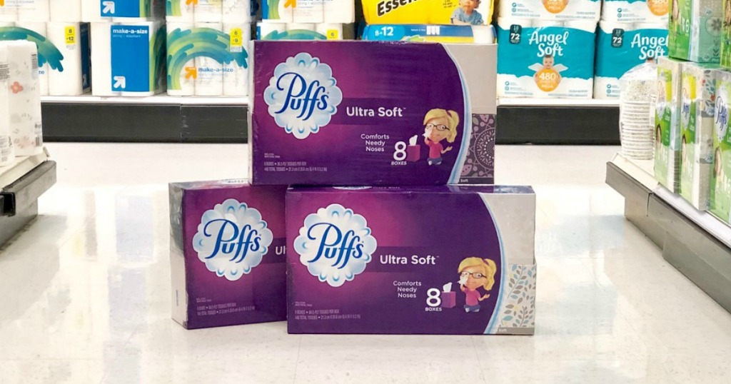 puffs tissues multipacks at target