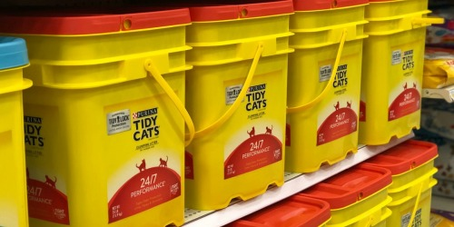 HUGE Tidy Cats Litter Pails Just $10.65 Each After Target Gift Card