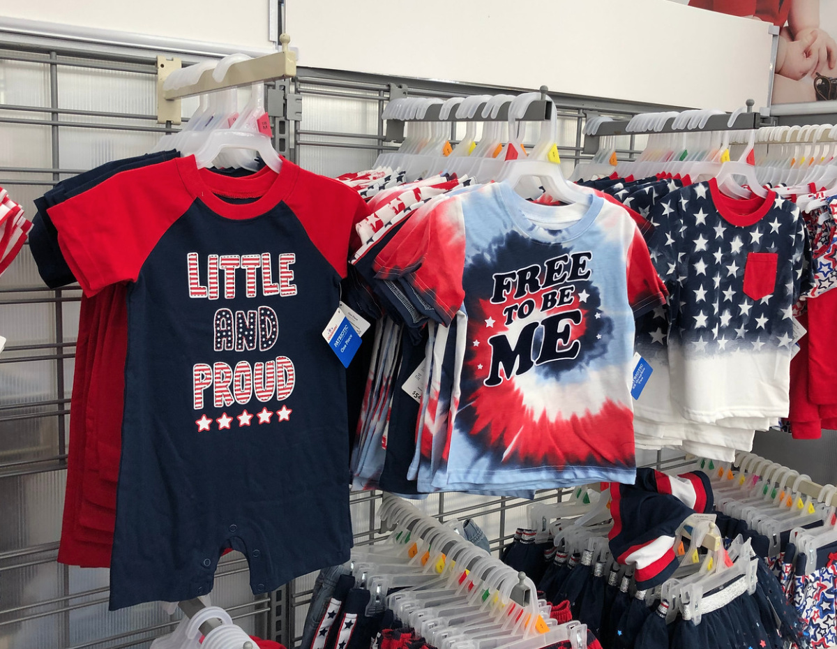 cabe6e00 Patriotic Kids Apparel as Low as $4.97 at Walmart (Perfect for July ...