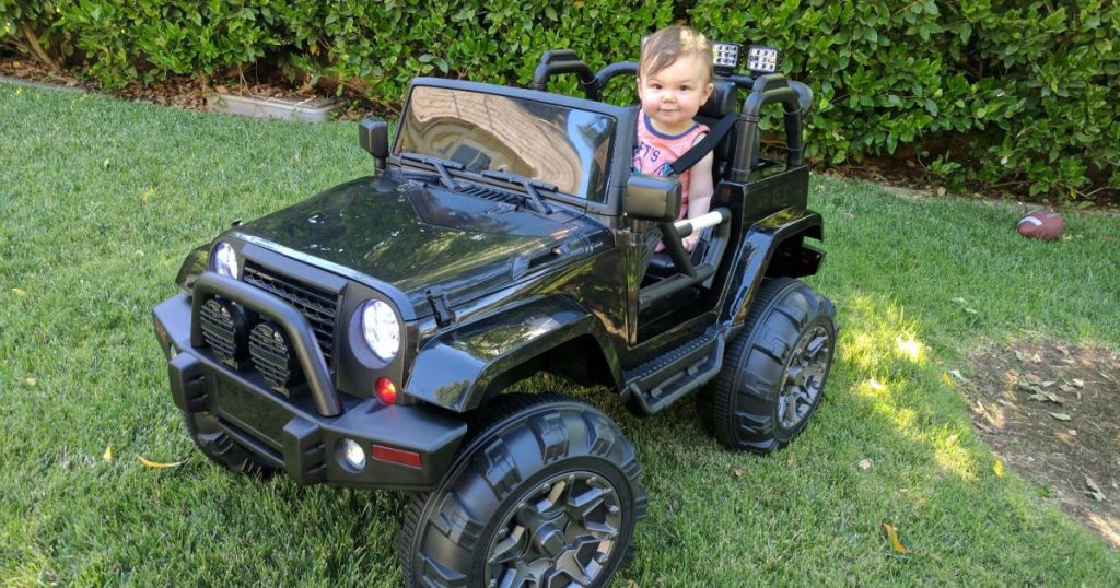 12v kids ride-on jeep