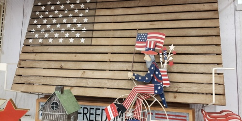 50% Off Patriotic Decor at Michaels (In-Store & Online)
