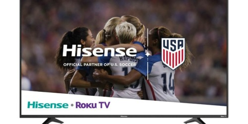 Hisense 65″ 4K UHD Roku Smart LED HDTV Just $399.99 Shipped at Best Buy (Regularly $600)