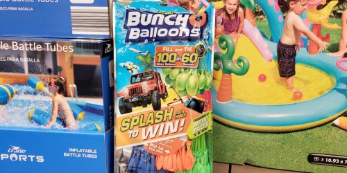 Bunch O Balloons Water Balloons Only $3 at ALDI