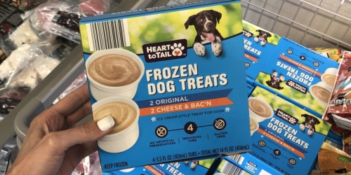 New Ice Cream Style Frozen Dog Treats at ALDI Stores
