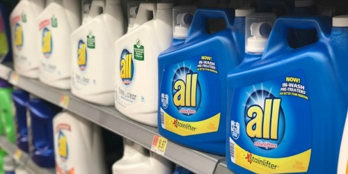 FREE $5 Walmart eGift Card w/ $15 All Laundry Detergent Purchase