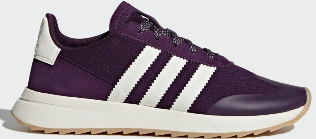 purple adidas womens shoes