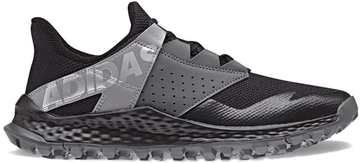 black and gray adidas vigor boy's shoes