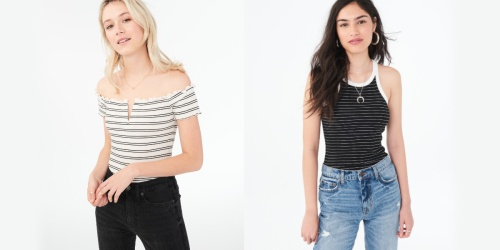 Up to 80% Off Men's & Women's Apparel at Aeropostale (In Stores & Online)