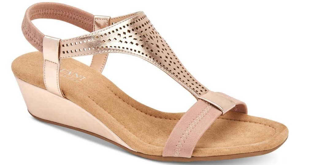 rose gold alfani heels
