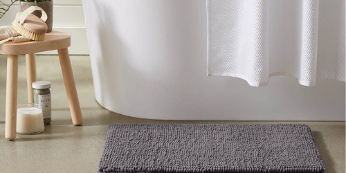AmazonBasics Gray Chenille Loop Bath Mat 2-Pack Only $9.40 (Regularly $20)