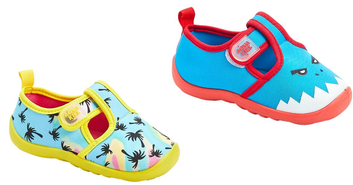 Aqua Tek Shoes in palm tree or shark design