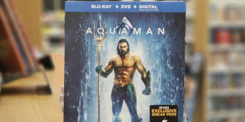 Select Blu-ray Movies Only $9.99 at Best Buy (Aquaman, The LEGO Movie 2, Fantastic Beasts & More)