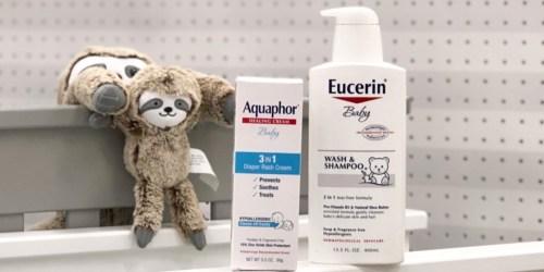 60% Off Eucerin Baby Wash & Shampoo at Target + More