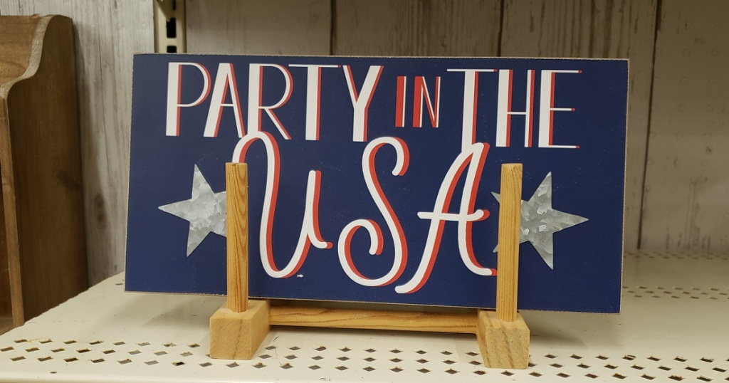 ashland party in the usa sign michaels